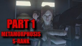 Resident Evil Revelations 2 Walkthrough Part 1 - Claire Redfield S-Rank/All Collectibles Episode 4