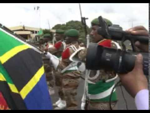 Rais wa Zanzibar Dk. Ali Moh'd Shein Nchini Commoro