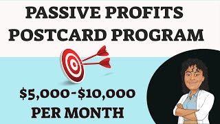 Passive Profits Scam Review* [How To Make Money Mailing Postcards From Home]