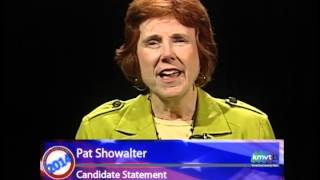 Mountain View City Council Candidate Statements - Pat Showalter