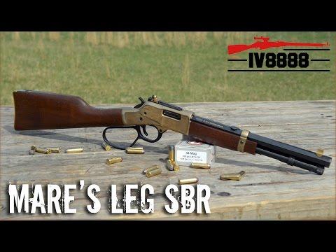 Henry Mare's Leg SBR .44 Magnum