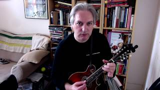 Mulqueen's (reel) on mandolin