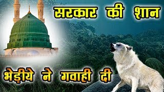 Hamare Nabi Aur Bhediye ki Gawahi - Hazrat Muhammad SAW Ka Mojza - हुज़ूर और भेड़िये का वाक़या