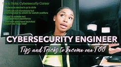 Life Update + TIPS AND TRICKS ON HOW I BECAME A CYBERSECURITY ENGINEER
