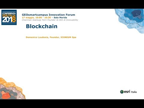 Blockchain - Domenico Laudonia, Founder, ICONIUM Spa