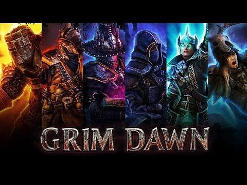 Grim Dawn. Ведьмак-стрелок, мальчишка симпатичный.#1