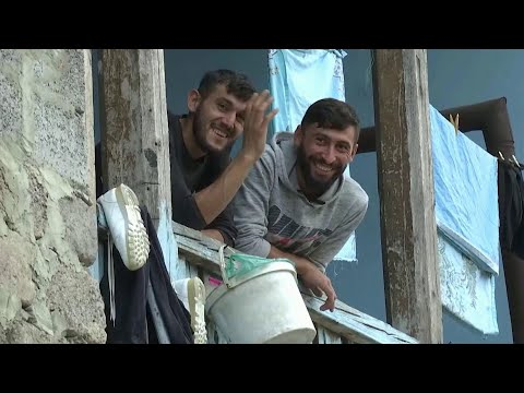 В грузинском селе Цопи мирно живут и армяне и азербайджанцы.