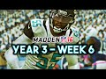 Madden 16 Jaguars Connected Franchise Year 3 - Week 6 @ Titans - Ep.49