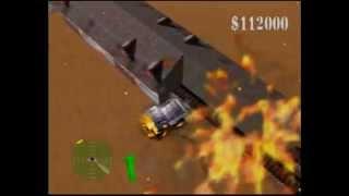 Blast Corps - Diamond Sands video walkthrough