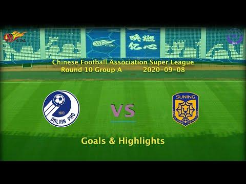 Dalian Pro Jiangsu Suning Goals And Highlights