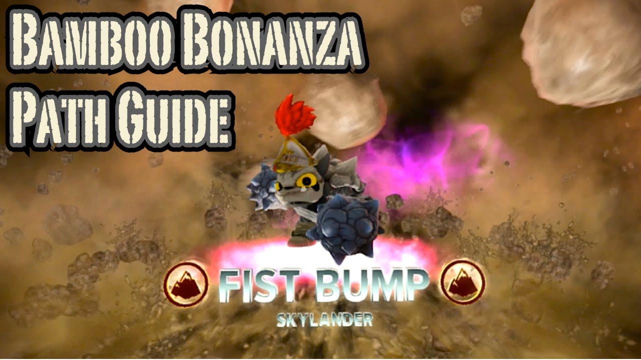 Skylanders Trap Team - Fist Bump - Bamboo Bonanza Path ...