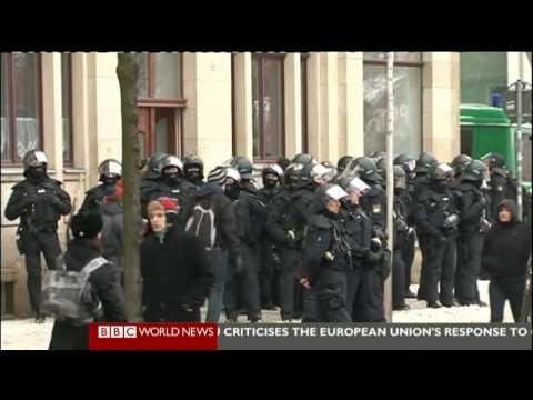 Dresden 2010: Nazi-Aufmarsch verhindert! (BBC)