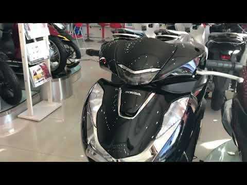 Honda SH 125i CBS 2021 màu đen bóng - Giá Bán 79tr