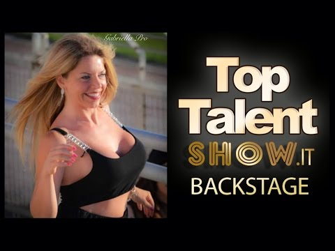 Top Talent Show 2015 | Backstage by Marilù Barberio