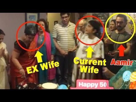 Aamir Khan Celebrating Ex Wife Reena Dutta's Birthday With Current Wife Kiran Rao