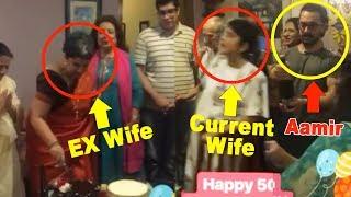 Video Aamir Khan Celebrating Ex Wife Reena Dutta's Birthday With Current Wife Kiran Rao download MP3, 3GP, MP4, WEBM, AVI, FLV Agustus 2018