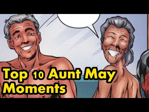 Top 10 Aunt May Moments