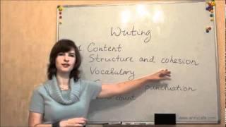 Письмо (ВНО, английский): Критерии оценки, видео урок