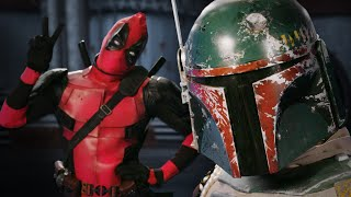 Repeat youtube video Deadpool vs Boba Fett.  Epic Rap Battles of History - Bonus Battle!
