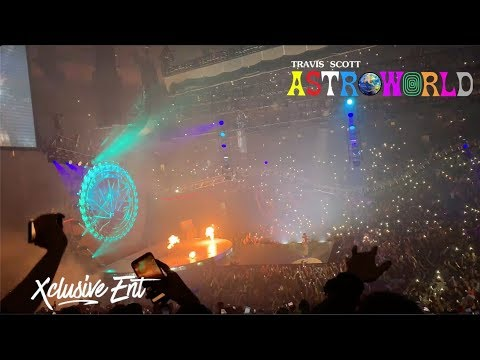 Travis Scott - Astroworld: Wish You Were Here Tour - Prudential Center - November 24th 2018