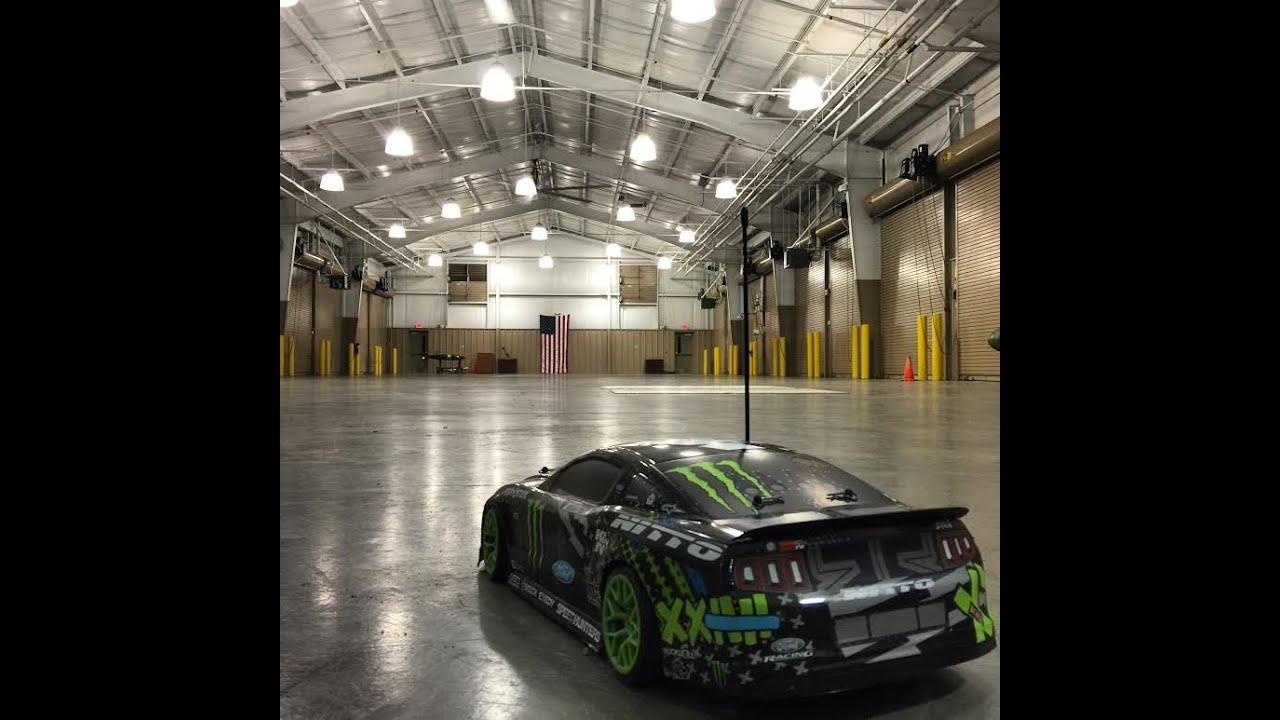 Hpi Ford Mustang Vaughn Gittin Jr Rc Drift Car Youtube