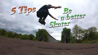 Inline skate tips for beginners - 5 TIPS!