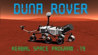 Kerbal Space Program Stock Duna Curiosity Rover