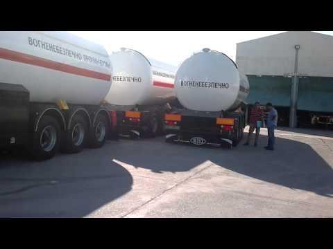 LPG tanker semitrailer, VOlVO truck, INDOX, 09.2011