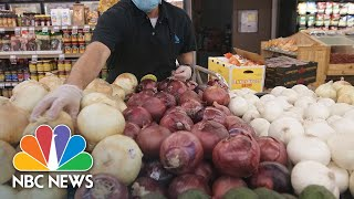 Essential Workers: Juggling low pay, COVID-19 worries while staying open for America   NBC News NOW