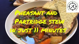 Easy, Tasty, Pheasant and partridge stew in just 11 minutes  AHSAJGF Video