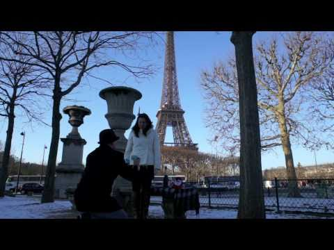 A Christmas Proposal in Paris