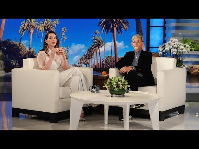 Anne Hathaway Pranks Ellen's Audience with 'Clementime'