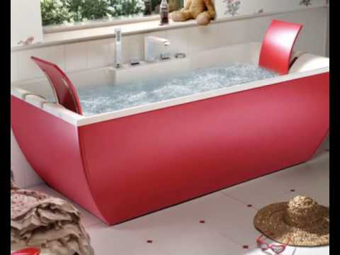 Beautiful Bathtubs by BluBleu - YouTube