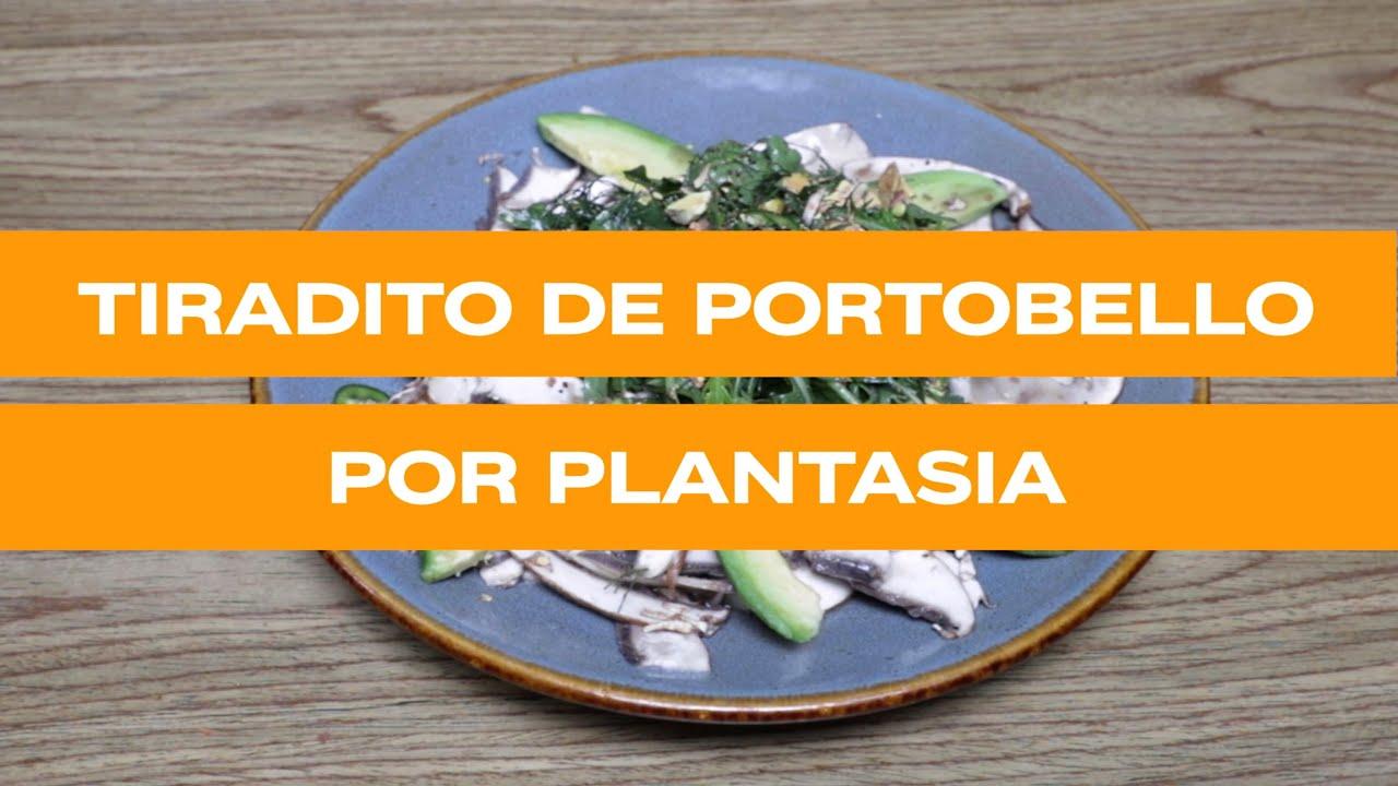 Tiradito de Hongo Portobello