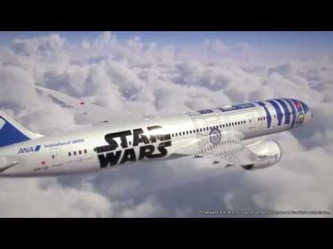 Commercial airline gets a Star Wars R2-D2 makeover