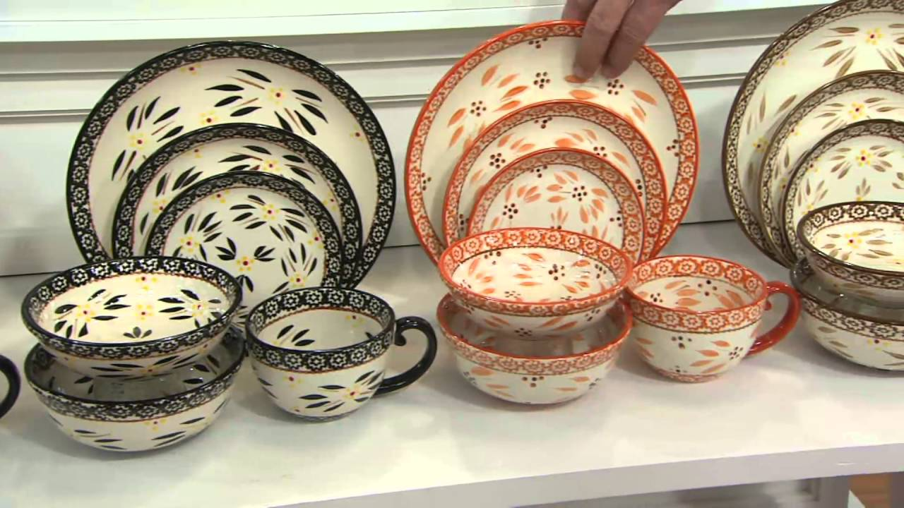 Temp-tations 24-piece Old World or Floral Lace Dinnerware Set on QVC ...