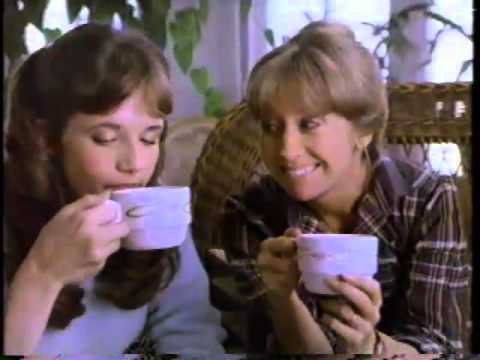 Lea Thompson 1983 General Foods International Coffee Commercial