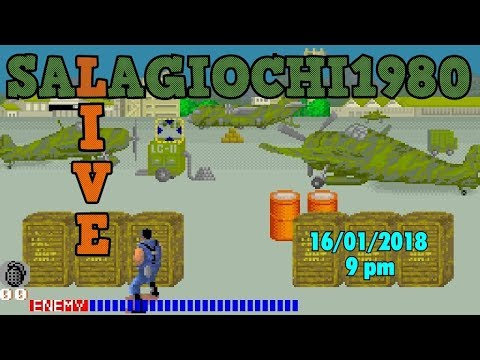 16/01/2018 - SALA GIOCHI 1980 LIVE: finiamo CABAL, Tad Corporation 1988