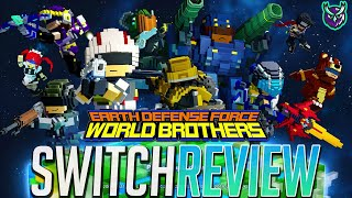 Earth Defense Force: World Brothers Switch Review - EDF! (Video Game Video Review)