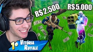 FORTNITE'S MOST EXPENSIVE SKINS DUO COST 7000 REAIS!!!