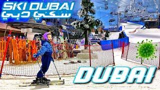 Ski Dubai Крытый горнолыжный курорт в пустыне Ски Дубай 2020 4к