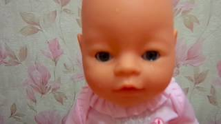 Baby Love обзор куклы. Кушает, плачет и писает (аналог Baby Born)//Toys for girls Video fo