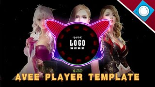 TEMPLATE AVEE PLAYER -【VERSI DJ NANDA LIA】-free download