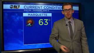 Upper Peninsula Weather Forecast - June 13, 2019
