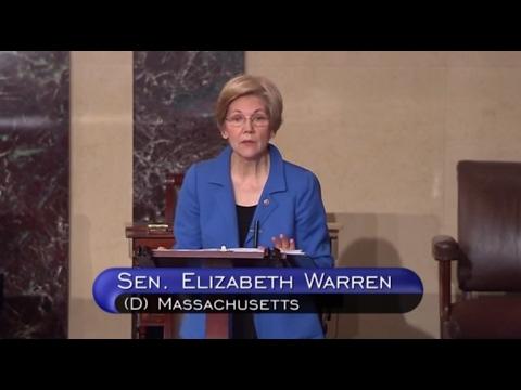 Sen Warren On Jeff Sessions - Full Floor Speech