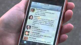 LileStyle Social Media Video Series: How to use your smart phone to update your Twitter.