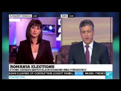 Klaus Iohannis wins Romanian presidential election(video)