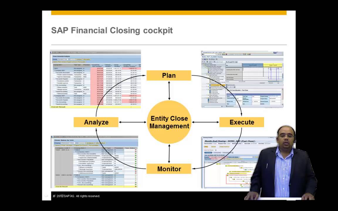 Financial Closing Cockpit From SAP
