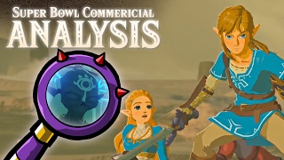 Zelda: Breath of the Wild - Nintendo Switch Super Bowl LI Commercial Analysis