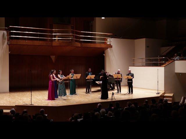 Victorioso vuelve el Cid, Julio  Gómez. Ensemble Vocal Mirtos. Dir. Nuria Fernández Herranz.